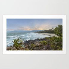 4mile Beach From Above Art Print