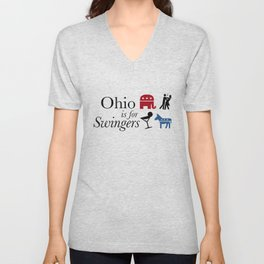 Ohio is for Swingers Unisex V-Neck