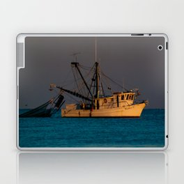 Tucker J fishing boat Laptop & iPad Skin