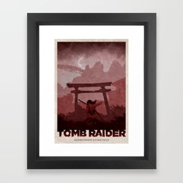 Tomb Raider (2013) Framed Art Print