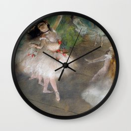 Dancers 1 By Edgar Degas | Reproduction | Famous French Painter Wall Clock
