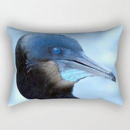 That Sapphire Stare Rectangular Pillow