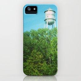 Gruene Water Tower iPhone Case