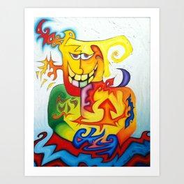 Howard's Familiar Spirit Art Print