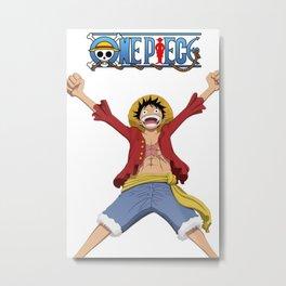 One Piece Metal Print