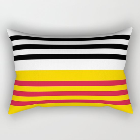 Flag of Loon op Zand Rectangular Pillow