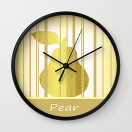 The Grand Pear Wall Clock