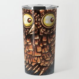 Composite Owl Travel Mug