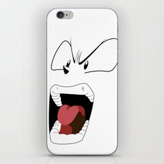 Angry woman iPhone & iPod Skin