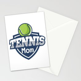 Tennis Mom Mothers Day Gift Love Tennis Stationery Cards