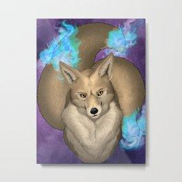 Never Trust A Fox Metal Print