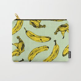 Mint Banana Carry-All Pouch