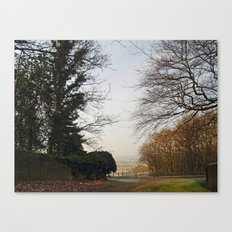A Glimpse of Lower Wharfedale Canvas Print