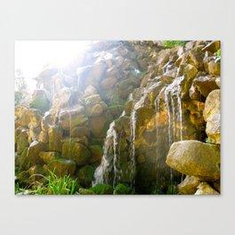 Serenity Cascade Canvas Print