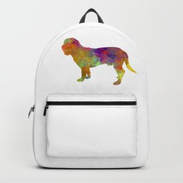 Hanoverian Scenthound in watercolor Backpack