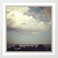 florida Art Prints featuring FLORIDA by Jennifer Spradling