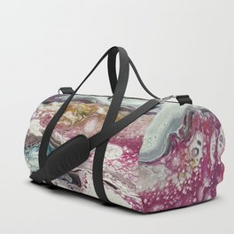Euphoria, Pouring medium, acrylic on canvas Duffle Bag