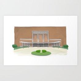 Packard Music Hall Art Print