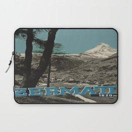 Vintage poster - Zermatt Laptop Sleeve