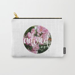 Adored - Botanical  |  The Dot Collection Carry-All Pouch