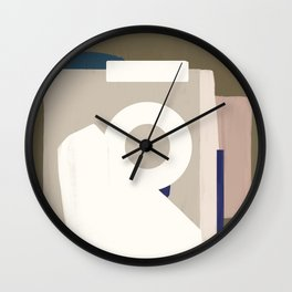 Branded Abstract 8 Wall Clock
