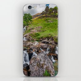 Watkin Waterfall Snowdonia iPhone Skin