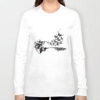war Long Sleeve T-shirts featuring War by Strychnyne