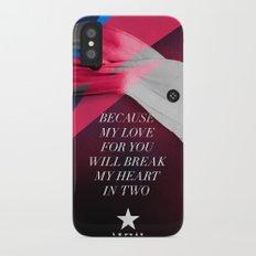 Blackstar (from Mars) iPhone X Slim Case