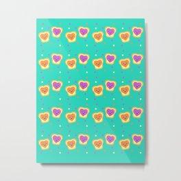 Sweet Lovers - Pattern Metal Print