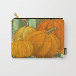 Five Pumpkins Carry-All Pouch