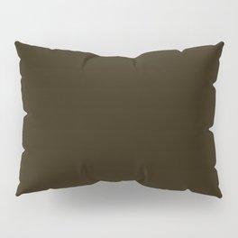 458. Kenpou-Kuro-Cha (Kenpou [person] -Black-Brown)  Pillow Sham