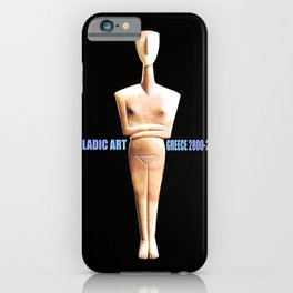 CYCLADIC ART iPhone Case