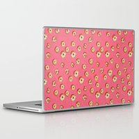 donuts Laptop & iPad Skins featuring donuts by shelby anne