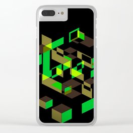Haricots verts / Đậu que Clear iPhone Case