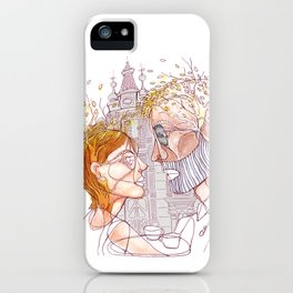 """ I realized early autumn "" iPhone Case"
