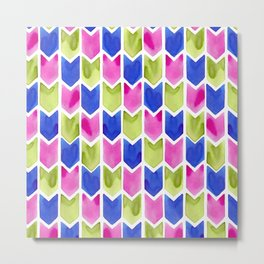 Arrow Multicolor Metal Print