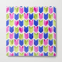 Arrow Multicolor Metal Print