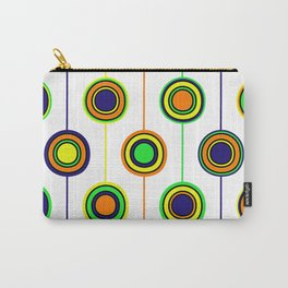 Circles of color Carry-All Pouch