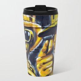 Steet Art in Yellow Travel Mug