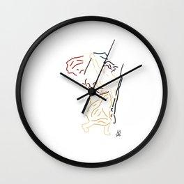 Minimal Delacroix Wall Clock