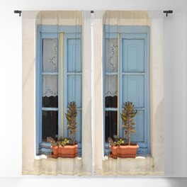 The Light Blue Window, Milos Blackout Curtain