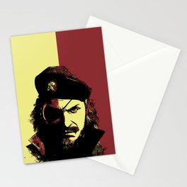 Big Boss (naked snake from metal gear solid) Stationery Cards