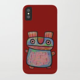 Rabbit work out iPhone Case