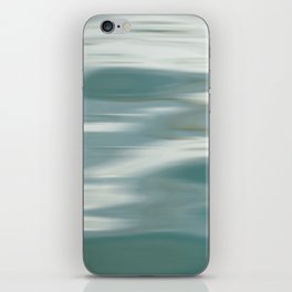 Abstract wave and light iPhone Skin