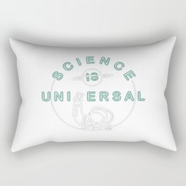 Bill Nye's Official Science is Universal Rectangular Pillow