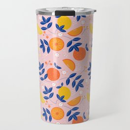 Summer is here- soft pattern Travel Mug