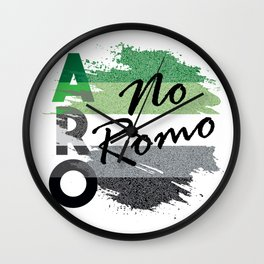 ARO No Romo Wall Clock