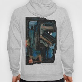 Bejewelled Modern Abstract Cubism Hoody