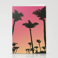 palms Stationery Cards featuring Palms by Cultivate Bohemia