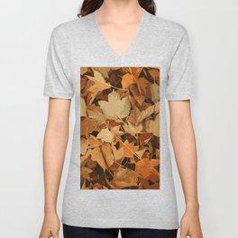 Autumn Whispers Unisex V-Neck